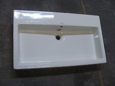 Duravit 04548000001 - Vero Wall or Top Mount Bathroom Sink with overflow - White