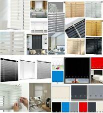 Pvc / Faux Wood / Aluminimum Venetian Window Blind Fabric Roller Blinds Easy Fit