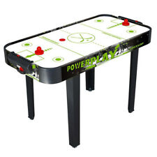 Hockey da Tavolo con Gambe 122x61x77cm in MDF Gioco Manopole Dischi Dunlop