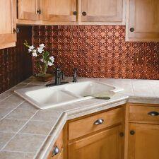 Fasade - Traditional Style #6 Moonstone Copper Backsplash 18 sq ft Kit (N56-18)