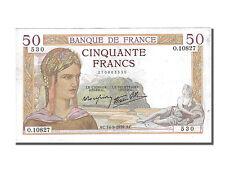 Billets, 50 Francs Cérès Modifié #250226