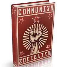 97 Communism & Socialism Books on DVD Lenin Communist Marxism Political USSR