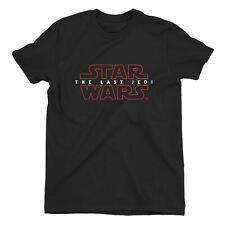 Star Wars The Last Jedi Movie Logo Children's Unisex Black T-Shirt