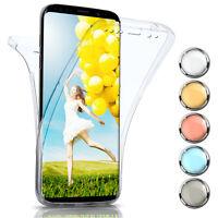 360 Degré Complet Etui Coque pour Samsung Galaxy S9 Plus Silicone Full Mince