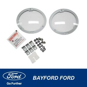 DRIVING LIGHT / LAMP FOG PROTECTORS FORD BA BF XR6 XR8 LEFT & RIGHT GENUINE