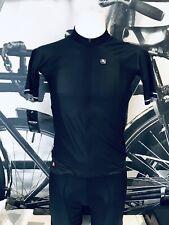 Giordana  Cycling Short Sleeve Jersey FR-C RRO Mens Black BRAND NEW