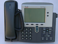 Cisco CP-7940G VoIP BUSINESS TELEPHONE  with SCCP Firmware loaded - 1 Y WTY-INV