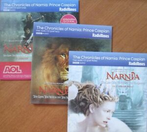 THE CHRONICLES OF NARNIA PRINCE CASPIAN BBC AUDIO COMPLETE 3HRS DAVID SUCHET