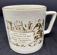 Vintage Crown Devon S. Fielding Co Coffee Mug Cup Dancing Jacks Drums & Trumpets