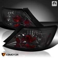 For 2006-2011 Honda Civic 2Dr Coupe Smoke Lens Tail Lights PAIR Replacement