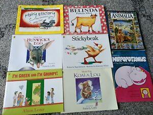 Kids Mini Book Collection Bulk Lot x8 Books, Penguin, Early childhood