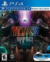 TETRIS EFFECT PS4! VR COMPATIBLE! FAMILY PARTY GAME NIGHT! NINTENDO CLASSIC!