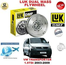 FOR VW TRANSPORTER V 1.9 TDi 2003-2009 ORIGINAL LUK DMF DUAL MASS FLYWHEEL