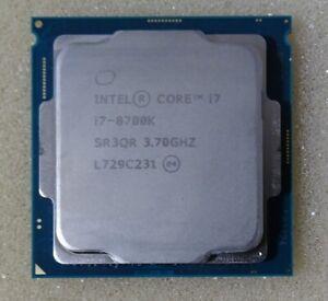 Intel Core i7 8700K 3.7 GHz Sockel 1151