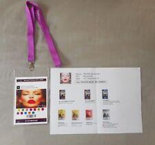 KYLIE MINOGUE ORIGINAL PASS BACKSTAGE KISS ME ONCE TOUR 2014 RARE