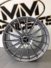 18 Zoll UA4 Alu Felgen 5x112 Titan für Mercedes W176 AMG 245 A250 CLA 117 Grau