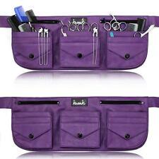 Hairdressing Equipment Scissor Toolbelt Pouch Tool Bag Purple