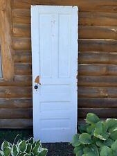 Antique Vintage Solid Wood Interior Door