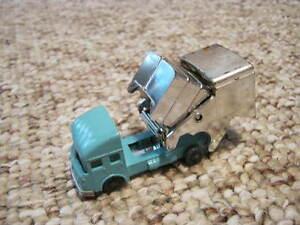 Vintage Toy Car -Metal & Plastic- Husky -Made in Great Britain- S & D Refuse Van