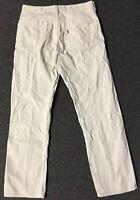 Vtg 90s Levis 505 Corduroy Pants 32/30 Cream Straight Cords Sailing Nautical 511