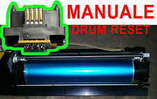 Xerox DocuColor12 DC12 - manuale reset DRUM chip 13R559