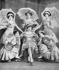 Nick Kaufmann Berlin Kaufmann's Roller Skating Girls 1911 Photo Article 9356