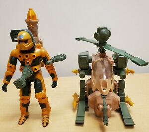 Kenner Centurions Jake Rockwell with Firefox & Hornet Both Complete