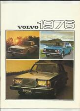VOLVO 244DL, 244GL, 245DL, 245 DLE AND 264 GL  SALES BROCHURE 1976