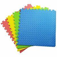 Large (60cm x 60cm) Kids Interlocking Mat Play mats Soft Foam Exercise Yoga Gym