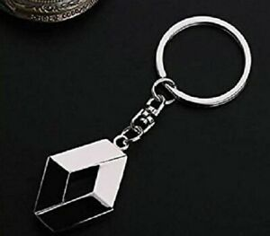 Renault Keyring NEW UK Seller Boxed or UnBoxed Key Ring Chain Silver