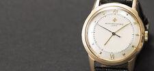 Armbanduhren aus echtem Leder und Massivgold mit 12-Stunden-Zifferblatt für Herren