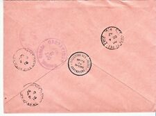 LUXEMBOURG Sc 329-31 GREAT EUROPA COVER OF 1957