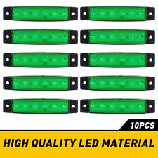 10PC Green LED Rock Lights Underbody Wheel Light For JEEP Offroad Truck UTV ATV
