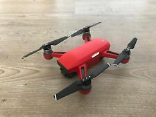 MATT RED WATERPROOF DJI SPARK VINYL SKIN / DECAL, UK MADE