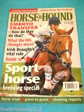 HORSE & HOUND - EMBRYO TRANSFER - MARCH 26 1998
