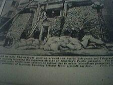 magazine picture world war two ww2 - sandbags in san francisco