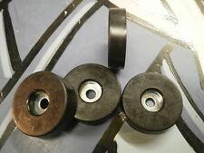 4x Adam Hall 4906 Rubber Feet 38mm x 10mm with Steel Insert ADAM HALL UK DEALER