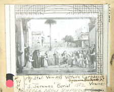 Lantern Slide St. Jeromes Burial