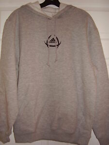 Adidas Youth Signature Hoody Gray Size L