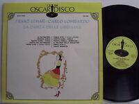 FRANZ LEHAR CARLO LOMBARDO disco LP 33 La danza delle libellule MADE in ITALY