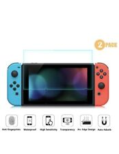 Nintendo Switch Screen Protector Transparent HD Tempered Glass- 2PK