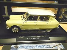 CITROEN Ami 6 Ami6 Limousine 1964 yellow gelb NEU NEW  Norev limited 1:18