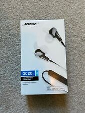 Bose QC20i Noise Cancelling in-ear headphones - Used & Boxed