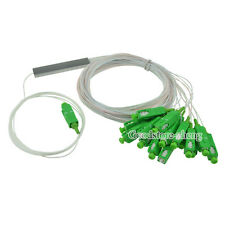 1x16 SC/APC Fiber Optic PLC Splitter Fiber splitters Fiber pigtails