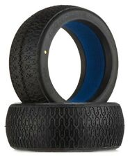 NEW JConcepts 1/8 Buggy Tire w/Foam Inserts Dirt Webs Gold Compound (2) 3081-05