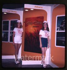 1974 Ektachrome Photo slide  Model Ladies  Gulf Shores Alabama AL