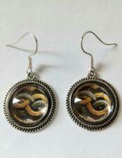 Neverending story auryn flor flower earrings