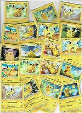 6 verschiedene Pokemon Karten Pikachu Deutsch Near Mint