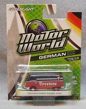 Greenlight Motor World Volkswagen Panel Van - German Edition - Series 16