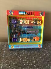 Transformers Combiner Menasor-Computron  Set Autobot Gestalt KO China Rare 2001